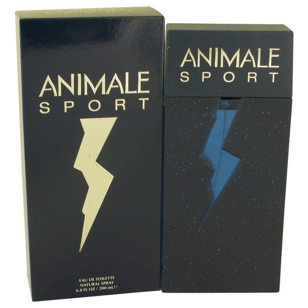Animale Sport Cologne 200ml EDT Men Spray |  A warm light and airy masculine scent to enhance your day or evening. The top notes are bergamot and sea breeze. The heart note is pear. And the bottom notes are amber, vetiver, sandalwood and woody notes. This flask contains 6.7 fl. oz which converts to 200ml.