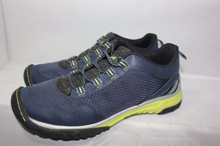 J-41 Jeep Blue ADVENTURE ON Twilight Walking Hiking Trail Shoes Women's 8.5 MINT #J41 #HikingTrail