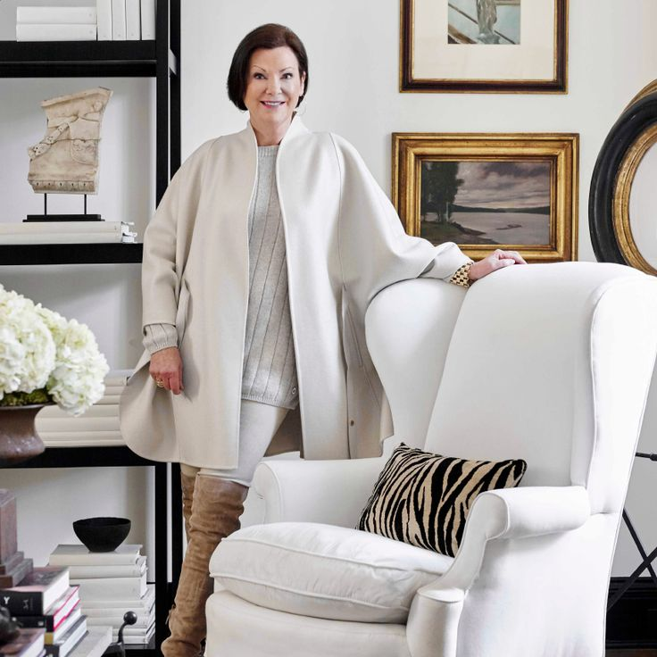 Atlanta Based Home Interior Designer Beth Webb Creates Style Sanctuaries.  Her New Book Titled An Eye For Beauty Is Out September