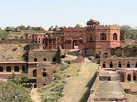 Fatehpur Sikri, una città fantasma nel Nord India.