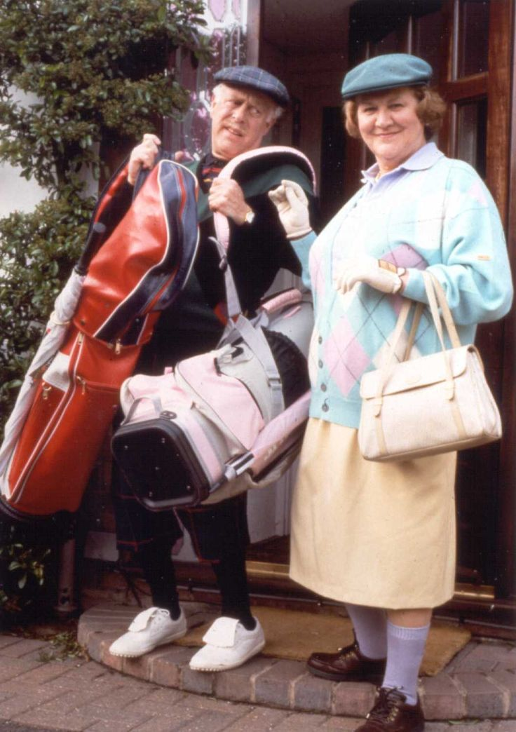 Use to watch this with my grandma! Keeping Up Appearances - A British comedy sitcom created and written by Roy Clarke for the BBC. Centred on the life of eccentric, social-climbing snob Hyacinth Bucket