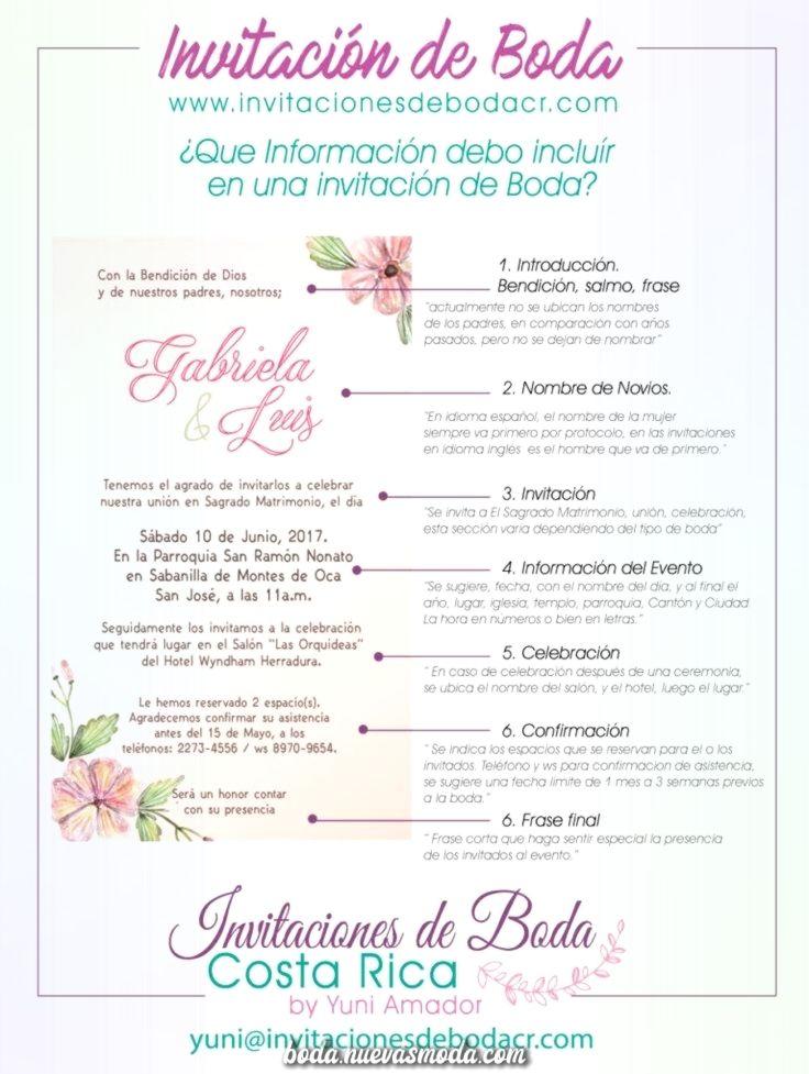 Elegante Cuerpo De Una Invitacion De La Boda Boda En Costa Rica Fun Wedding Invitations Wedding Invitations Beach Wedding Invitations