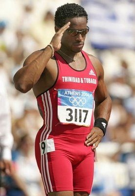 ATO BOLDON track and field bronze and silver medalist.