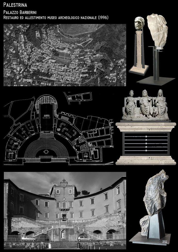 PALAZZO BARBERINI - MUSEO ARCHEOLOGICO DI PALESTRINA - ARCH. R.PINCI - ARCH. P.VIGILANTE - DOTT.SSA SANDRA GATTI, Palestrina, Roberto Pinci