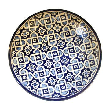 Love the geometric pattern: Moroccan Plate