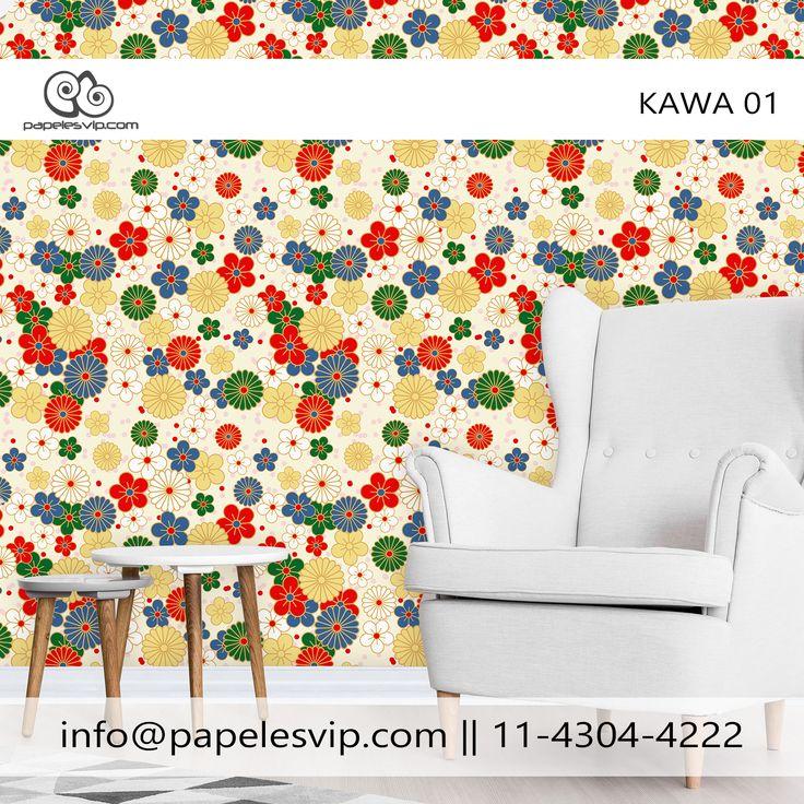 Empapelado Kawa 01 #empapelado #papelesvip #diseños #personalizados #decoracion #deco #homedecor #revestimientos #paredes #wallpaper #interiores #interiordesign #decorar #empapelar #renovacion #interiores #vinilizado #lavable #empapelados #papeles #papelespintados