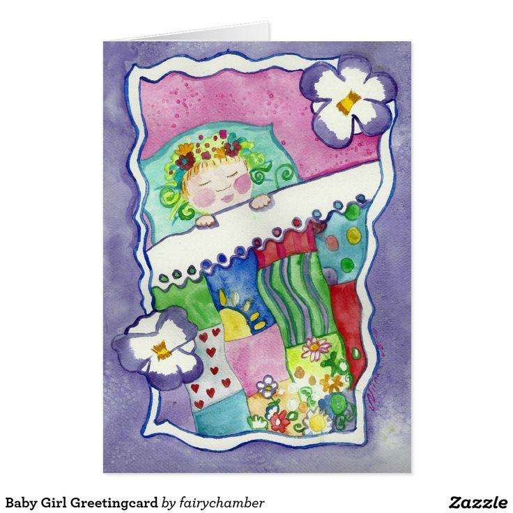 Baby Girl Greetingcard