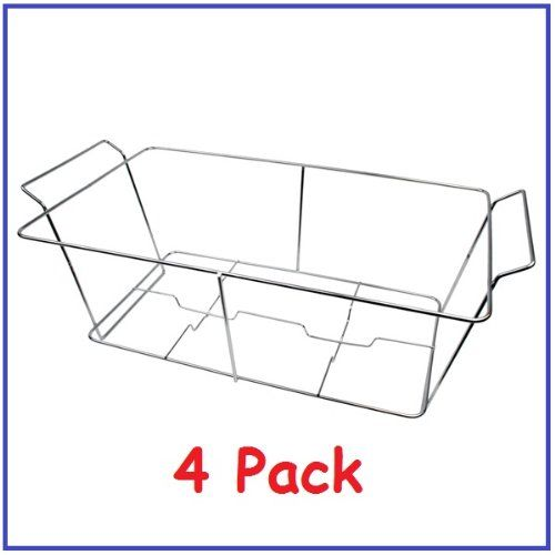 Amazon.com: (Pack of 4) Buffet Chafer Food Warmer Wire Frame / Stand / Rack - Full Size: Industrial & Scientific