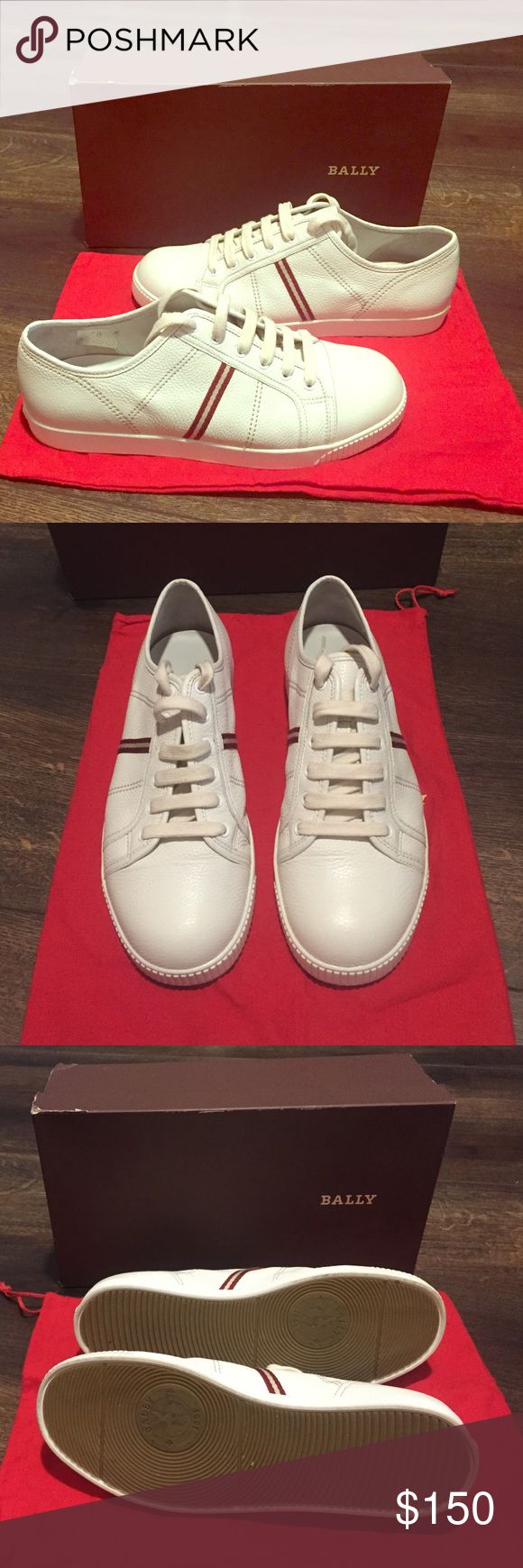 Authentic Bally Men's Shoes Beautiful cream leather men's shoes. Style-Venanzo. Made in Switzerland. Size 9.5 US. Owned by a shoe head. Bally Shoes