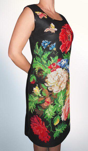 (583) Gallery.ru / Фото #4 - Вышитое платье - Ka