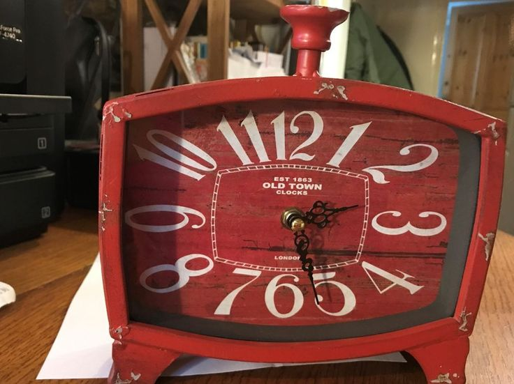Old Town Clocks, London, Vintage Style desk/mantel clock #OldTownClocksLondon #VintageRetro