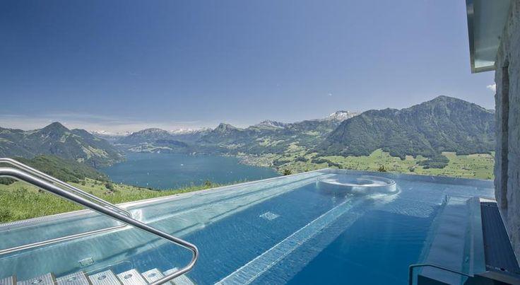 Hotel Villa Honegg, Swimming pool