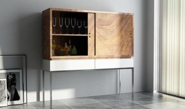 LOT61 Wine Armoire - modern - Armoires And Wardrobes - Design Public