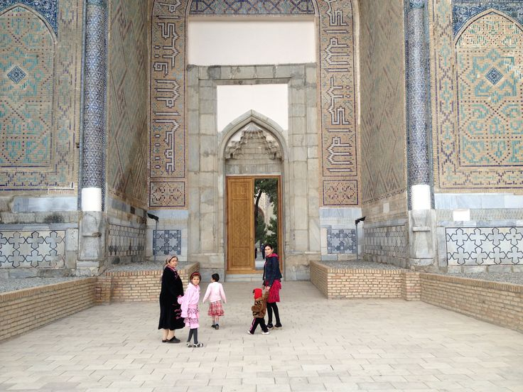 Welcome to Samarkand!