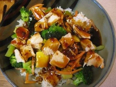 Copycat of Rumbi's Hawaiian Teriyaki Chicken Bowl