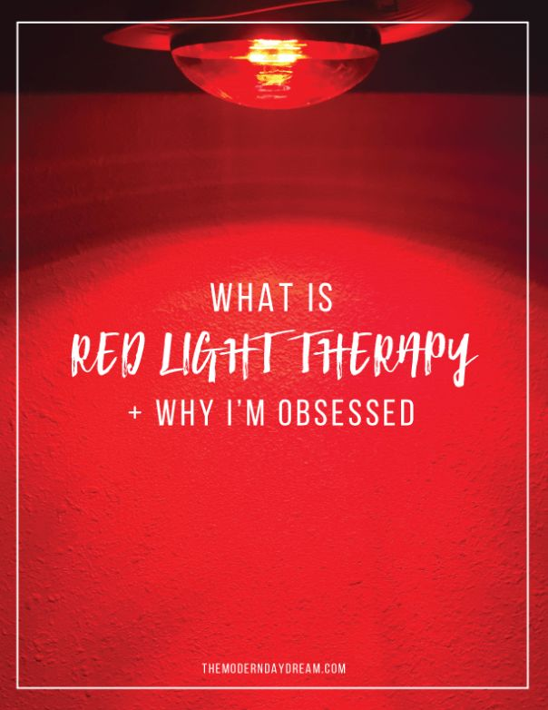 What is Red Light Therapy and why I'm obsessed