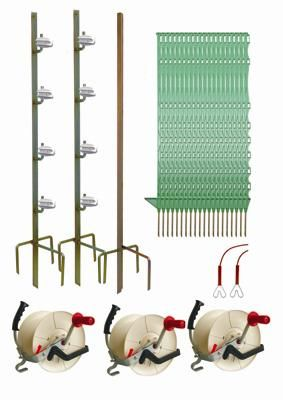 500M Geared Polywire Wire 3 Reel System - Hotline Electric Fencing Kit - £350.00 ex. VAT