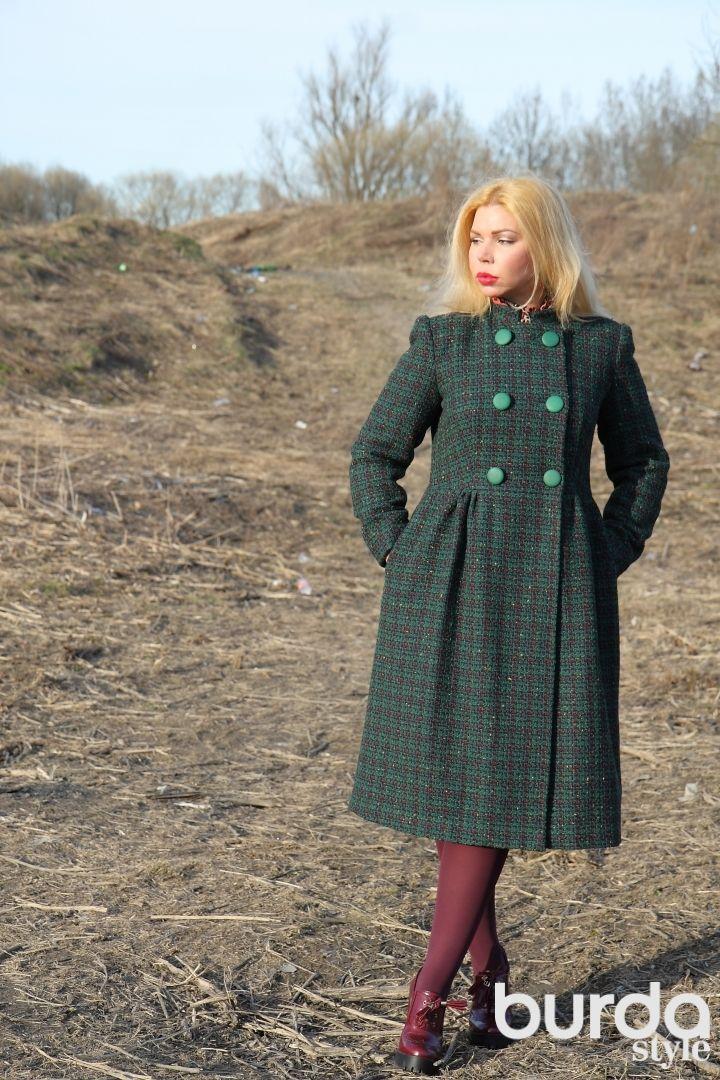 Пальто Мэри Джейн / Фотофорум / Burdastyle