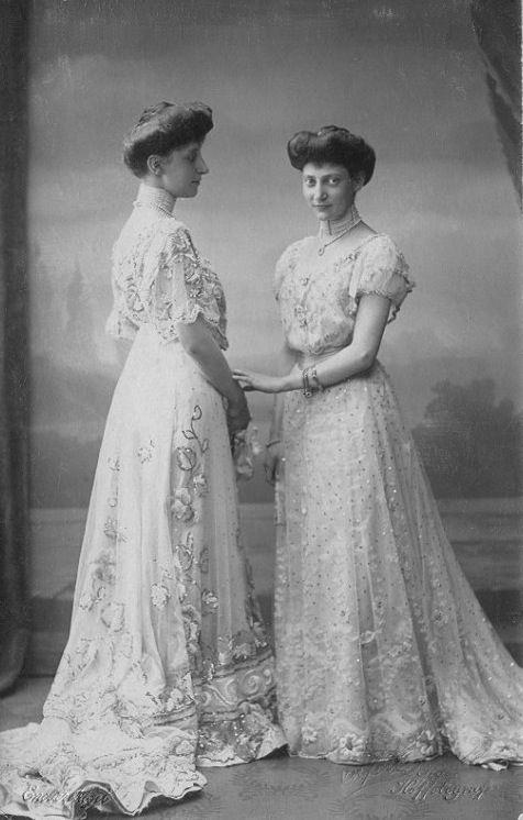 Princesses Ingeborg and Thyra of Denmark