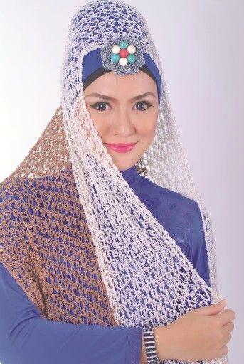 Hijab Rajut Sakinah