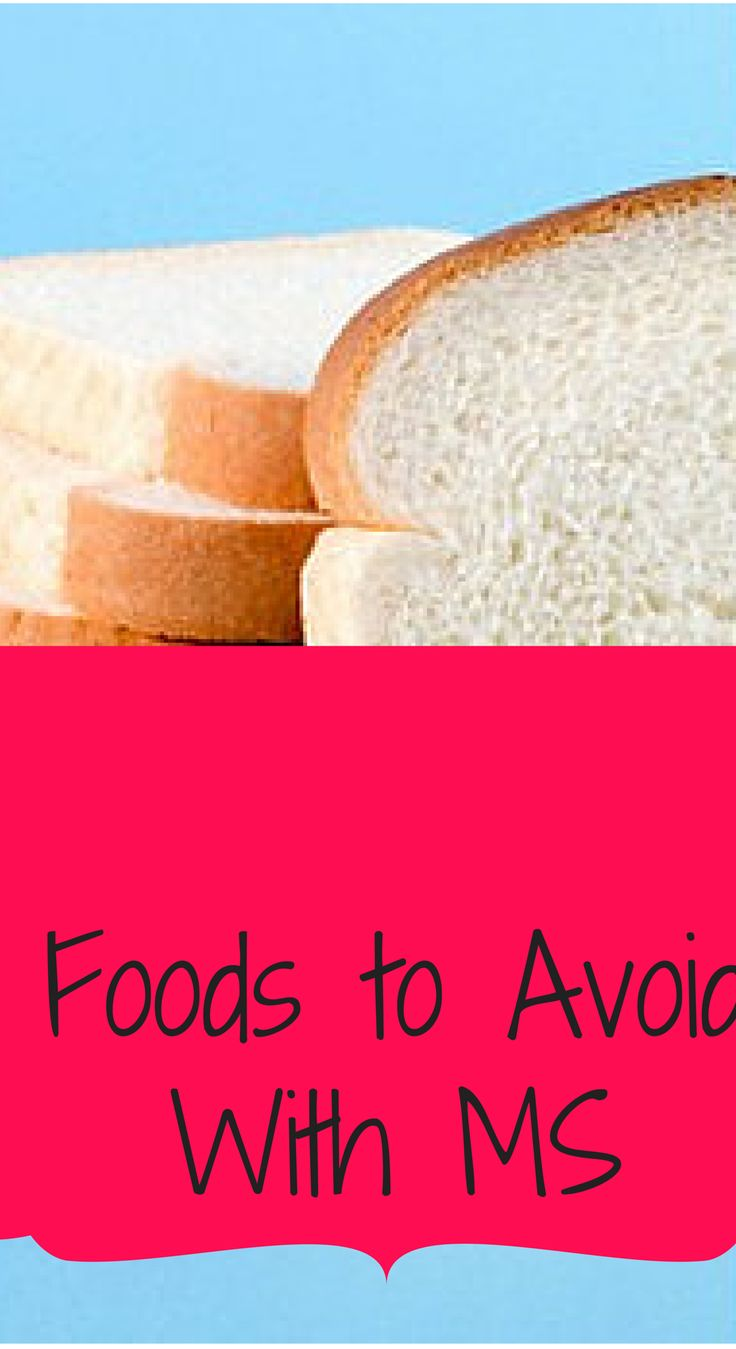 7 Foods to Avoid With MS Everything I LOVE!!