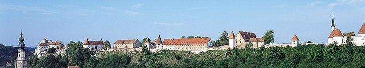 144 km from Munich, castle a kilometer length