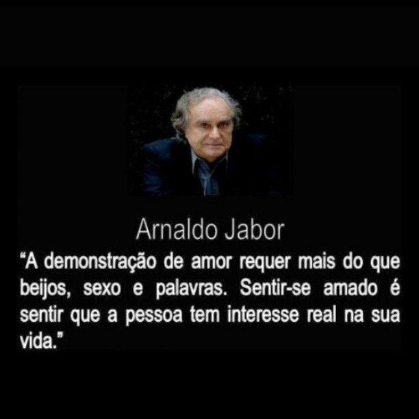 O que é o amor ? Arnaldo Jabor