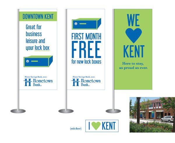 Hometown Bank - Name & Brand Update by Advertising & Design, via Behance