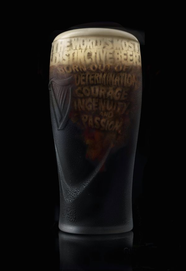 The Worlds Most Distinctive Beer - Guinness by Douglas Goh, via Behance