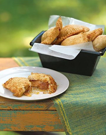 Fried Apricot Turnovers: These delectable little pies are filled with ...