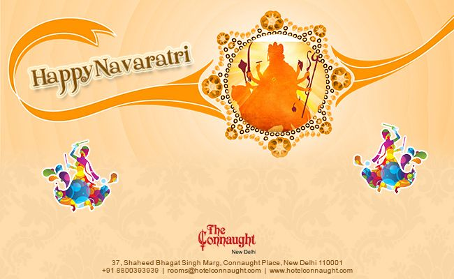 """Happy Navratri 2013""...The Connaught Hotel New Delhi.... http://www.theconnaught.in/"