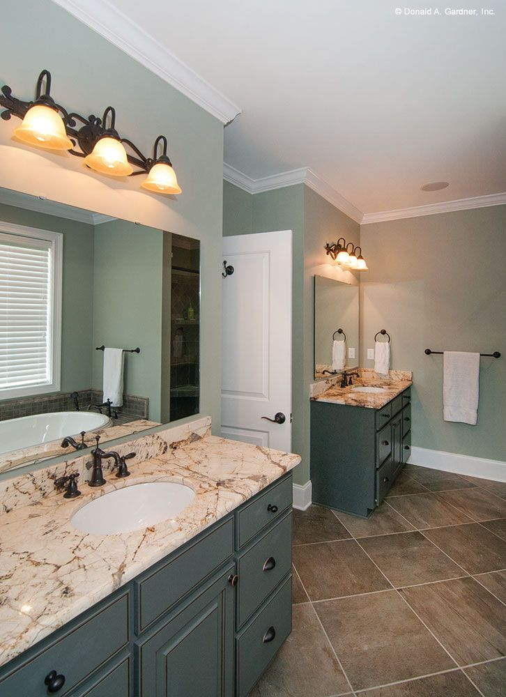 Separate Vanities Allow Couples To Have Their Own Space