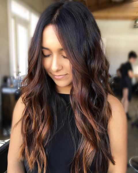 Haircuts for long thick hair: All Things Hair - IMAGE - Long layered textured cut