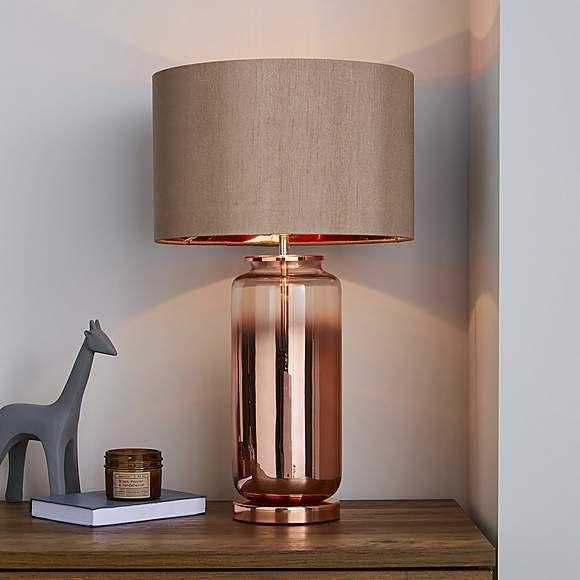 Https I1 Adis Ws I Dm 30571721 Jpg Standardplayerdefault Img404 Noimagedefault Copper Table Lamp Glass Table Lamp Country Table Lamp