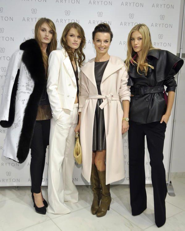 Katarzyna Sokołowska z modelkami