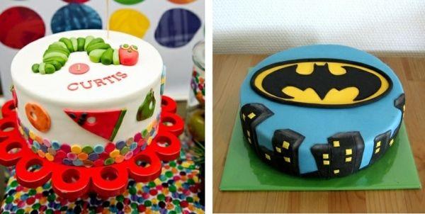 gâteau anniversaire original pour garçon avec super-héros Batman