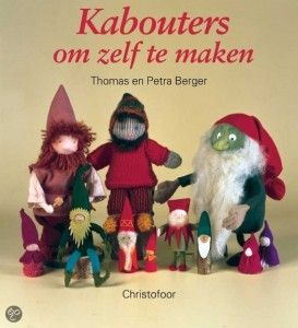 Boek Kabouters om zelf te maken knutselen herfst