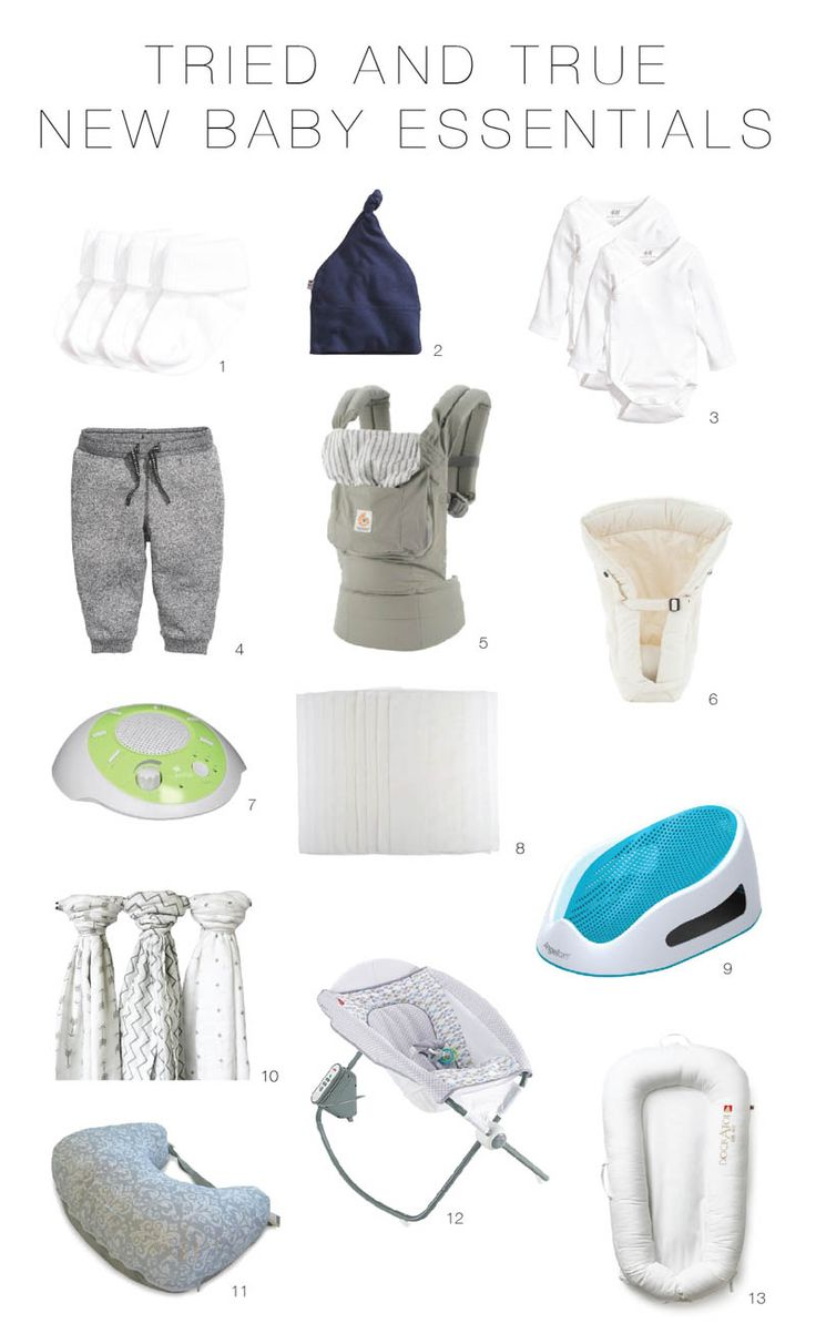 Tried-and-True New Baby Essentials