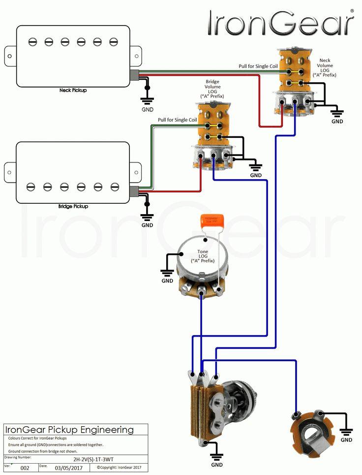 guitar wiring 2 tone 1 volume wiring diagrams in guitar wiring diagram 2 humbucker 1 volume. Black Bedroom Furniture Sets. Home Design Ideas