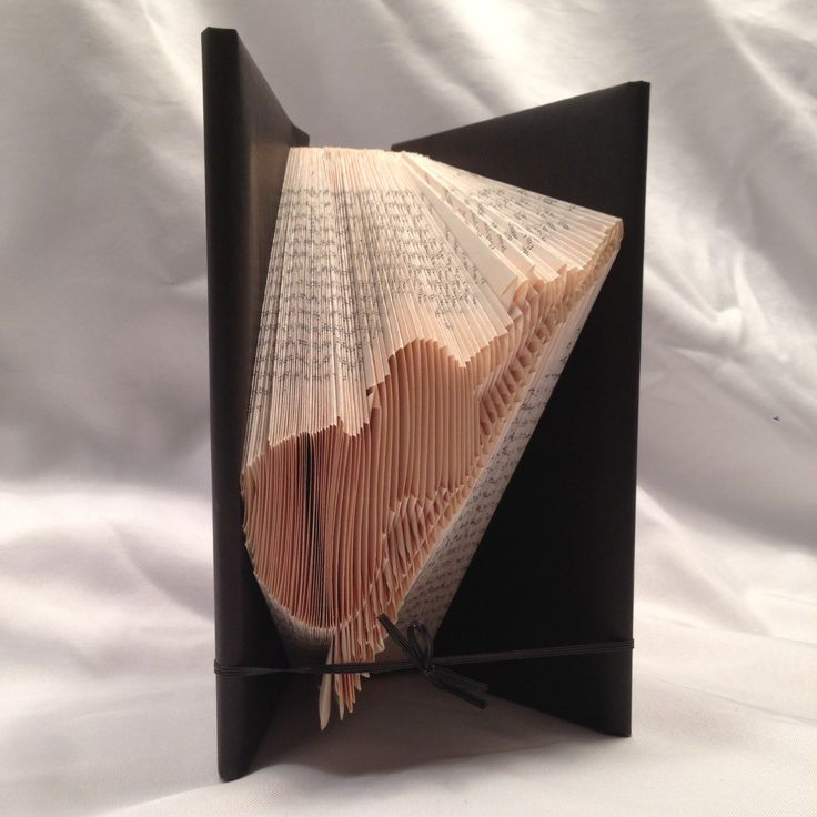 Violin, Folded book art, Shadow book,music, instrument by MoonShadowBooks on Etsy