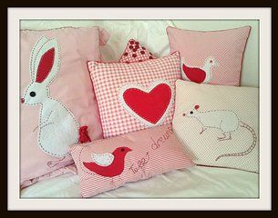 Beautiful cushions for your child's special little corner