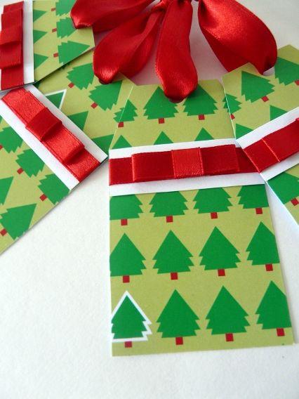 Vánoční cedulky