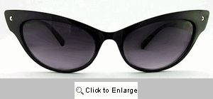Enchantress Cateye Sunglasses - 269 Black
