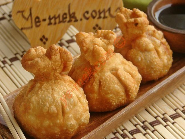 Çıtır Çin Mantısı Tarifi (Resimli Anlatım) | Kolay ve Pratik Resimli Yemek Tarifleri | Göbeğim