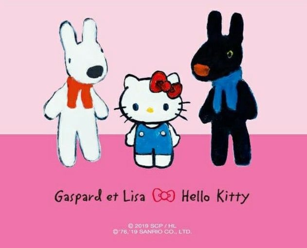 gaspard et lisa x hello kitty hello kitty kitty funky art