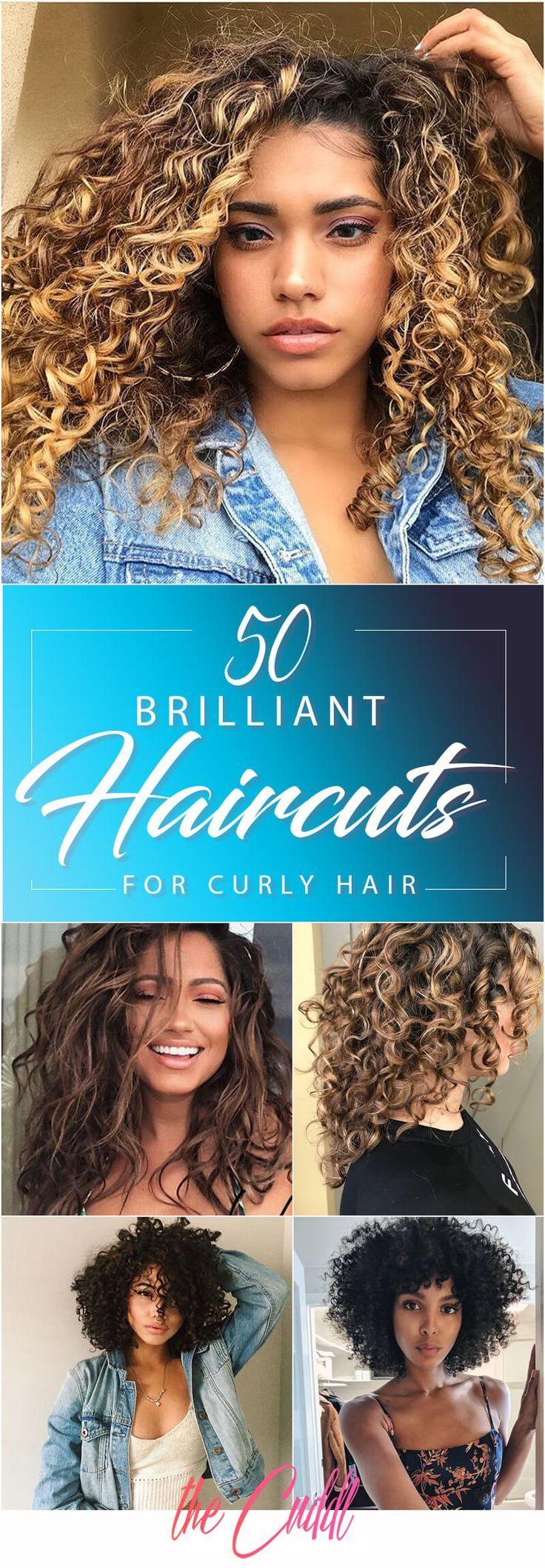 50 glänzende Haarschnitte für lockiges Haar, die Sie gesund und sexy halten –