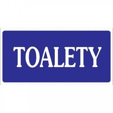 Oznaczenia toalet #tabliczka #toaleta #WC