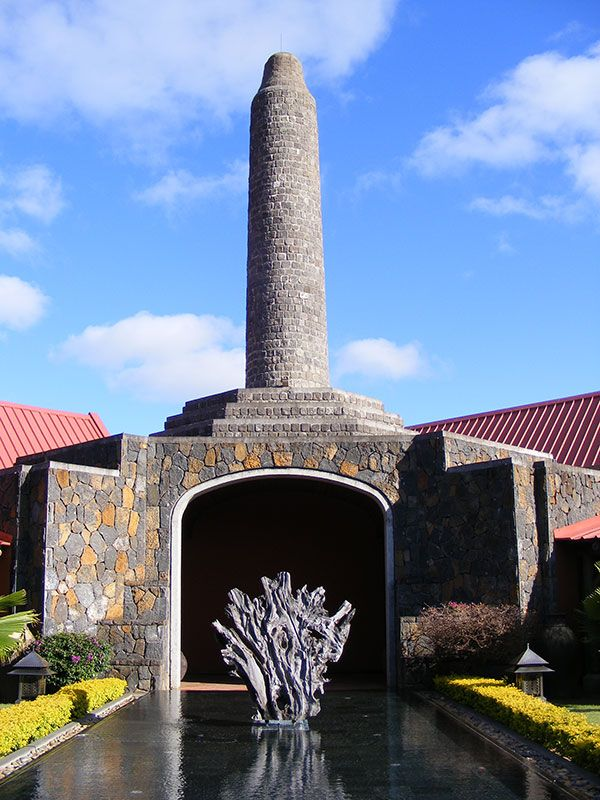 The Rhumerie de Chamaral rummery in south-west Mauritius.