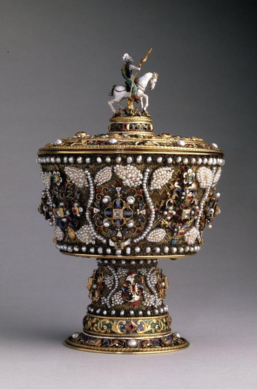 British Museum - Transylvania, Kingdom of Hungary (?) - Standing cup, 17th century.