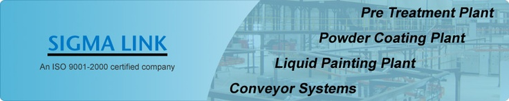 Manufacturer of Powder Coating Plant, CED Plant, ETP Plant, Conveyor Systems